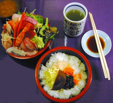 Chirashi Jyu Sushi Box (Ta-ke) $18.95