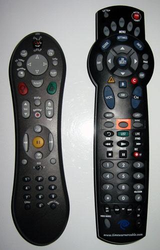 Tivo vs. DVR remotes