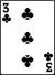 3 clubs