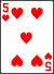 5 heart