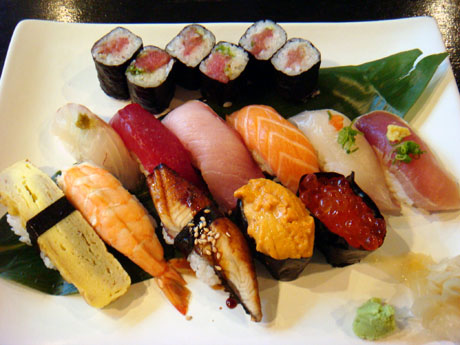 Nigiri Sushi Combination - $24.50 (Click the picture to see the exterior of the building)
