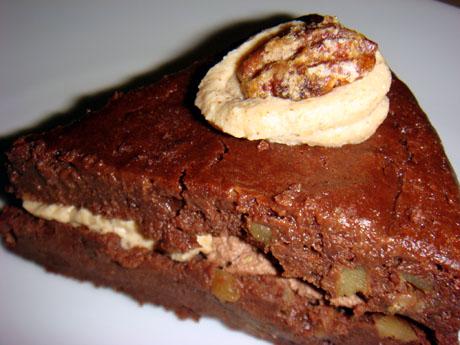Tofu Walnuts Chocolate cake $8