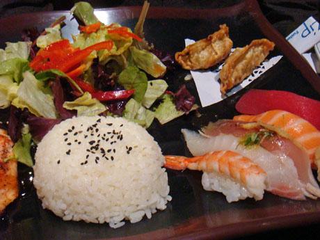 Bento w/ Salmon - $12.99