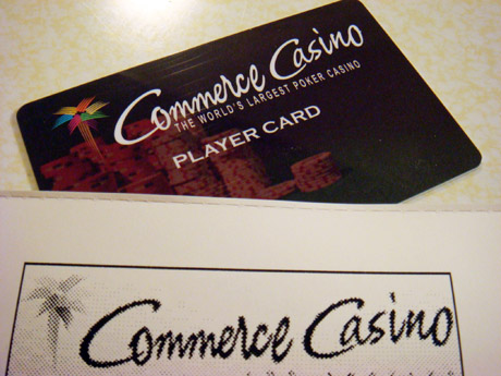 Commerce Casino Updates Players Cards