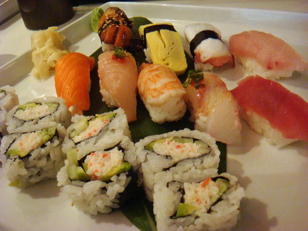 Sushi Sampler - $30