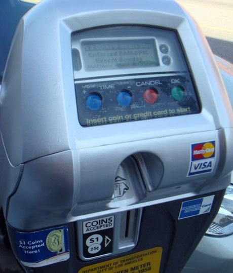 High Tech Parking Meters Takes Credit