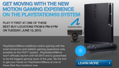 "Sony PS3 ""Move"" Demo at Best Buy"