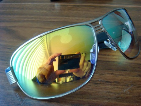 Poker Sunglasses: Poker Armor vs. Blue Shark