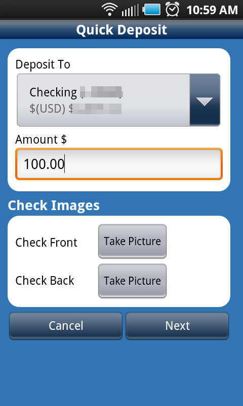 Chase Mobile App Check Deposit