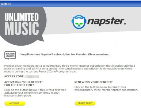 Free Napster from Best Buy