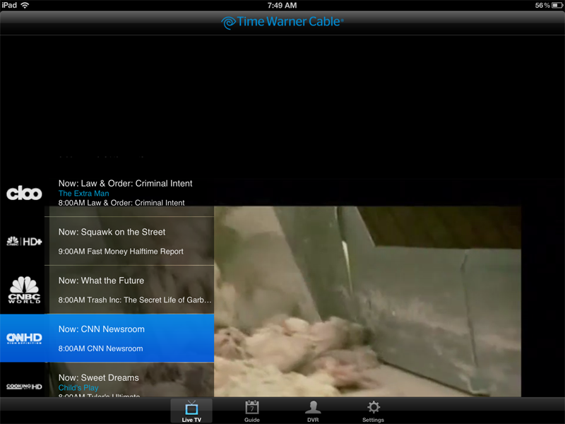 Time Warner Cable App Problem: Time Warner Cable TV iPad App Reviewrh:cochinoman.com,Design