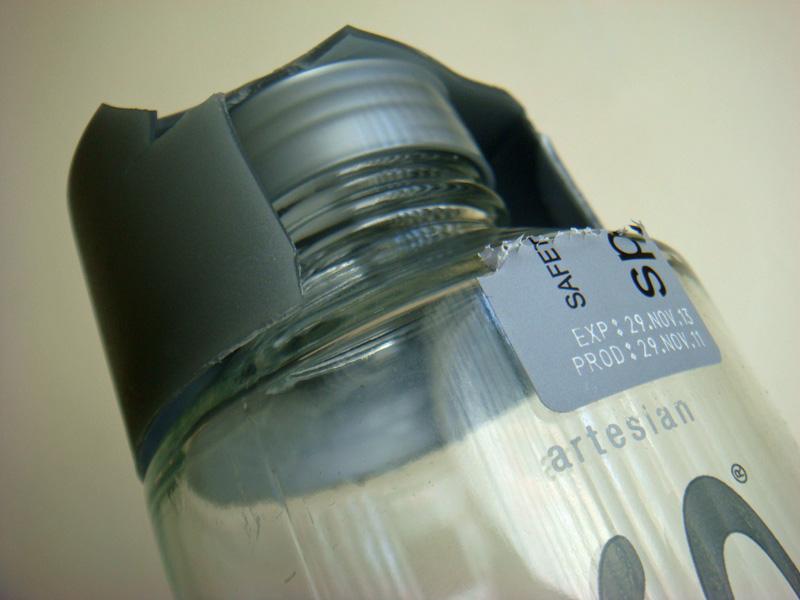 voss water bottle needs better cap