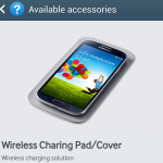 "Samsung Galaxy S4 Wireless ""Charing"" Pad Teased in Help"