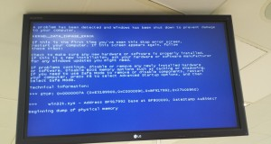 Blue Screen of Death Follows Me to 7-11