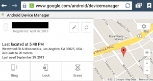 Google's Android Device Manager Setup & Use