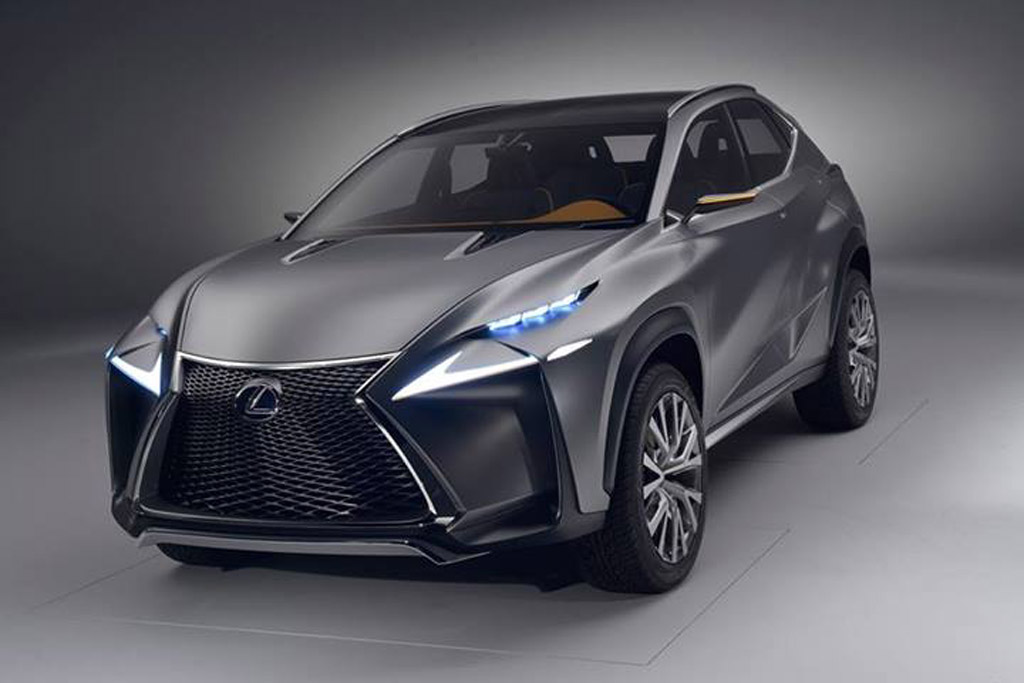 Lexus LF-NX Concept Revealed