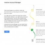 Google Adds Inactive Account Manager