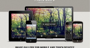 PhotoSwipe Adds Photo Gallery For Free