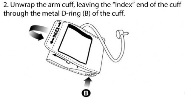 blipcare cuff