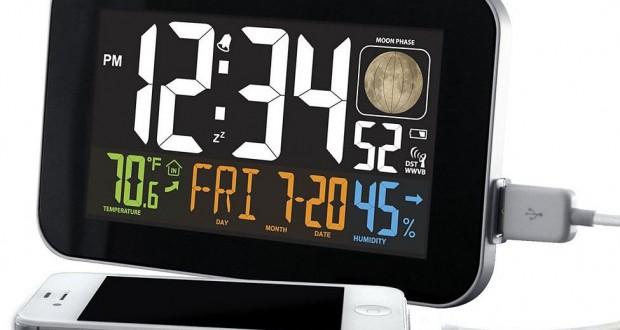 la crosse technology alarm clock review. Black Bedroom Furniture Sets. Home Design Ideas