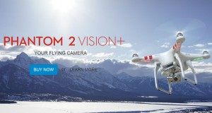 Phanton 2 Vision+ Flying Camera From DJI
