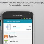 Samsung Smart Switch Transfers Data to New Smartphone