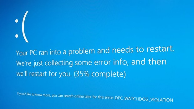 windows 8 blue screen
