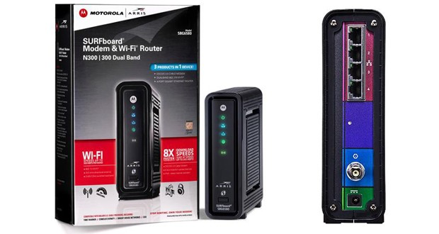 Motorola Sbg6580 Cable Modem Amp Wifi Setup Amp Review