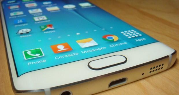 Samsung Galasxy S6 edge bottom