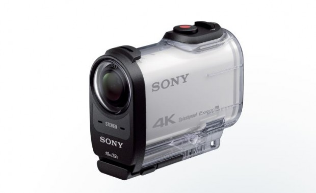 sony 4k action cam waterproof case