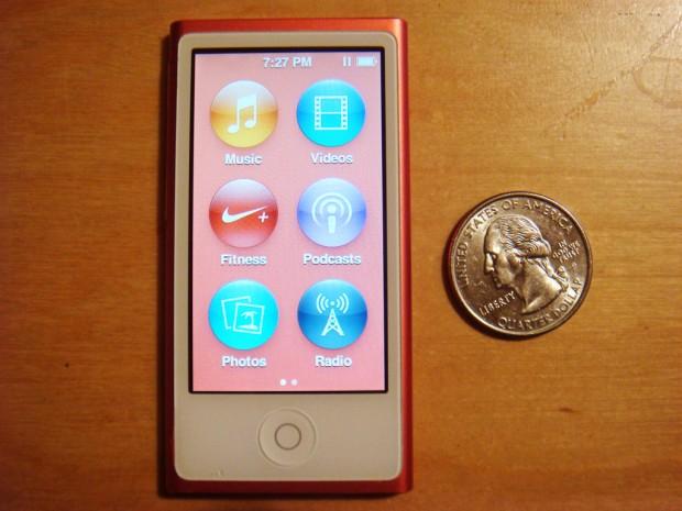 ipod nano size