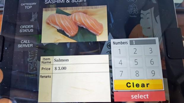 kaba sushi order