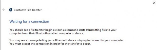 bluetooth wait