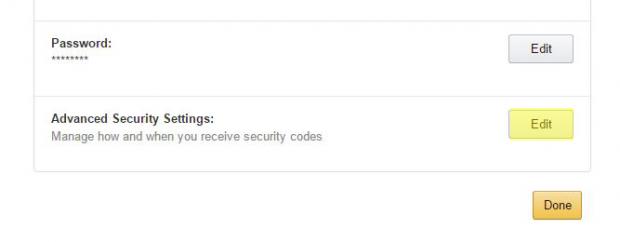 amazon settings