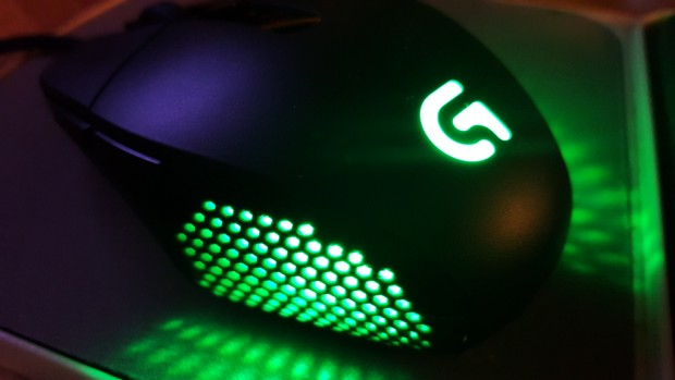 logitech g303 led