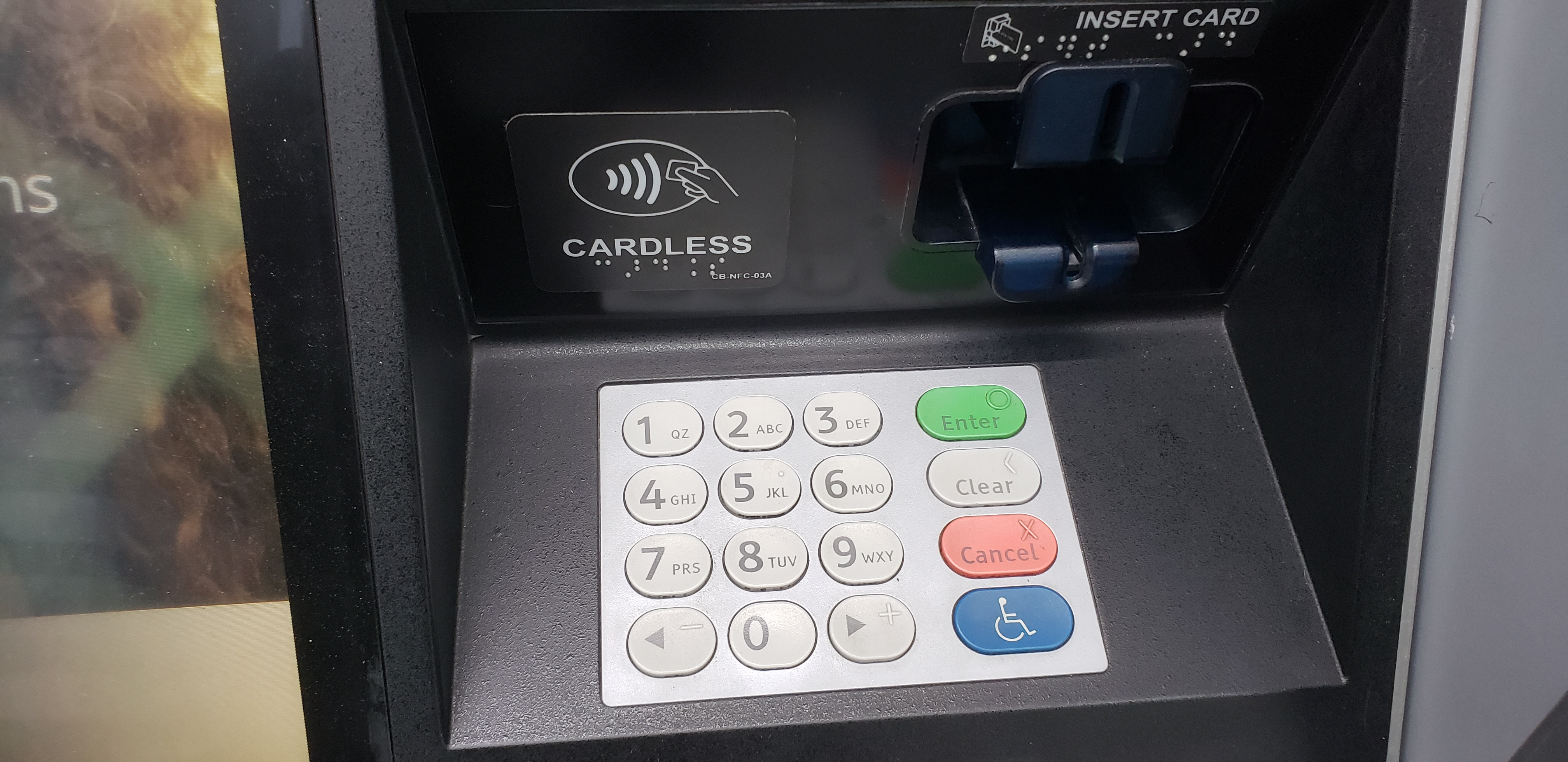 Chase Adds Cardless ATMs Too